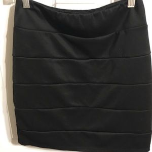 Other - Black knee length skirt